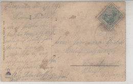 MARINE-SCHIFFSPOST No.80 21.1.9 AK-Helgoland / Erhalt - Covers & Documents