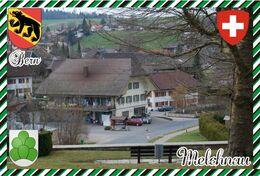Postcard, REPRODUCTION, Switzerland, Canton Bern, Melchnau - Landkaarten
