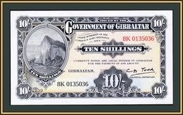 Gibraltar 10 Shillings 1934 (2018)  UNC - Gibilterra