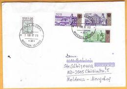 2007 Russia Russia. Used Envelope Russia- Moldova. - 1992-.... Federation