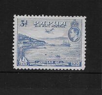 Papua New Guinea 1938 KGVI Airmail 3d Mint - Papua Nuova Guinea
