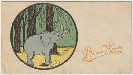 Eléphant - Carte Mignonnette -(D.8776) - New Year