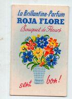 Valence D'Agen (82 Tarn Et Garonne) Carte Parfumée Roja Flore Bouquet De Fleurs  (PPP23792) - Anciennes (jusque 1960)