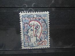 """VEND BEAU TIMBRE DE FRANCE N° 1282 , OBLITERATION """" VICHY """" !!! - 1961 Marianne De Cocteau"""