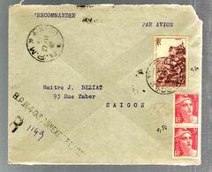 36680 D - Du B.P.M.  403 D'Hanoi - Postmark Collection (Covers)