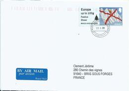 Vignette D'affranchissement IAR - ATM - Post & Go - Drapeau De Jersey - Sapin - Festive Cheer - Jersey