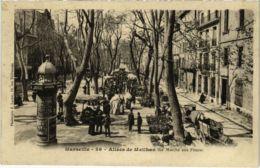 CPA MARSEILLE Allees De Meilhan (Le Marche Aux Fleurs) (66772) - Old Professions