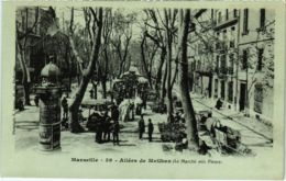 CPA MARSEILLE Allees Des Meilhan (Le Marche Aux Fleurs) (66777) - Old Professions