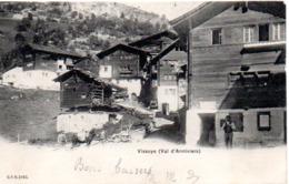 VISSOYE  VAL D'ANNIVIERS  En 1904 - VS Valais