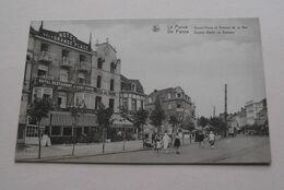 GROOTE MARKT En ZEELAAN - GRAND'PLACE Et Avenue De La MER ( Thill ) Anno 19?? ! - De Panne