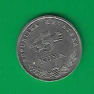 5 Kuna 1998  Circulée (BX13) - Croazia