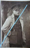 Photo Portrait Sous Officier 9ème Régiment De Ligne Laeken Bruxelles Brussel Belgische Leger Armée Belge Oorlog - Guerra, Militari