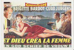 BRIGITTE BARDOT - ET DIEU CREA LA FEMME. CP Editions Humour à La Carte  AC 1269 Tournage à Ramatuelle - Gassin - Posters On Cards