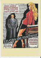 BRIGITTE BARDOT - EN CAS DE MALHEUR. CP Editions Zreik N°145 Avec Jean Gabin - Posters On Cards