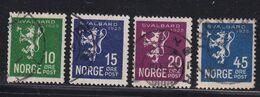 Norway - Svalbard 1925, Complete Set Vfu. Cv 25 Euro. Read - Gebraucht