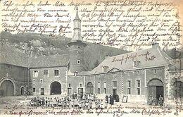 Abbaye De Flône - Cour De L'Ecole (animée, Edit W B 1906) (prix Fixe) - Amay
