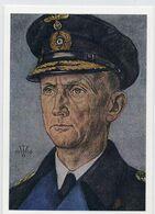 DC3301 - W. Willrich  Volksbund Für Das Deutschtum Berlin - Großadmiral Karl Dönitz - Personnages