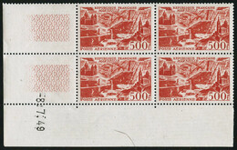 ** N°24/7 La Série En Blocs De 4 CD 16/4/49, 20/5/49, 23/5/49, 8/7/48 - TB - Poste Aérienne