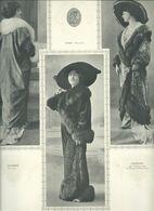 Revillon Freres  Maison De Fourrures A Paris Fondé En 1839  Plache Avec Modeles De Fourrures - Vintage Clothes & Linen