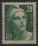 FR 1668 - FRANCE N° 728 Neuf* Marianne De Gandon - France