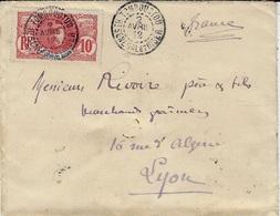 1912- Enveloppe De TOMBOUCTOU / Ht SENEGAL Et NIGER  Affr. 10 C Pour La France - Non Classés