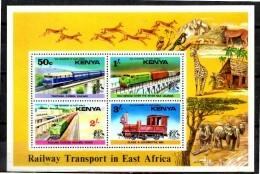 KENYA   BF  2  * *  ( Cote 15e )  Trains - Trains