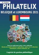 LOGICIEL PHILATELIX BELGIQUE Et LUXEMBOURG 2021 (Gestion De Collections) - Software