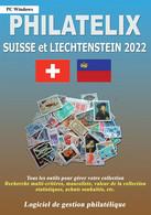 LOGICIEL PHILATELIX SUISSE Et LIECHTENSTEIN 2021 (Gestion De Collections) - Software