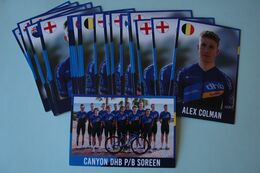 CYCLISME: CYCLISTE : EQUIPE CANYON DHB P/B SOREEN 2020 COMPLETE - Cycling