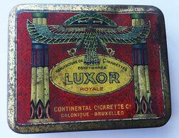 Boite Cigarettes Luxor - Empty Tobacco Boxes