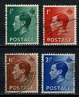 GB 1936  Yv. 205/208, SG 457/460 Used - 1902-1951 (Kings)