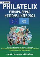 LOGICIEL PHILATELIX EUROPA NATIONS UNIES SEPAC 2021 (Gestion De Collections) - Software