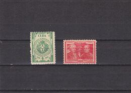 Cuba Nº 285 Al 286 - Unused Stamps