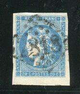 Superbe N° 45A Bord De Feuille - 1870 Emission De Bordeaux