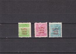 Cuba Nº 332 Al 334 - Unused Stamps