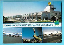 44----NANTES---aéroport International Nantes Atlantique--multi-vues--voir 2 Scans - Nantes
