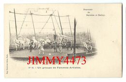 CPA - BARNUM & BAILEY - Un Groupe De Femmes Artistes - N° 10 - Imp. Courmont Frères  Paris Scans Recto-Verso - Circus