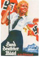 DC3329 - WW2 Propaganda Germany Militaria - BDM Bund Deutscher Mädel In Der Hitlerjugend HJ REPRO - War 1939-45