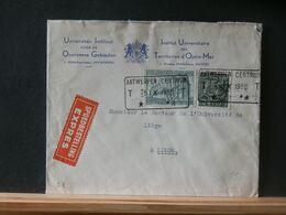 90/750    LETTRE EXPRES OBL.  ANTWERPEN CENTRUM  1950 - Cartas