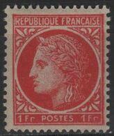 FR 1689 - FRANCE N° 676 Neuf** Cérès De Mazelin - Unused Stamps