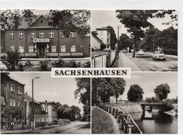 DC3324 - Postkarte Oranienburg Sachsenhausen Hotel Centrum - Oranienburg