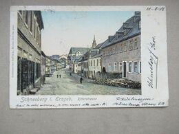 Schneeberg Erzgeb. - Ritterstrasse - 1901 - Schneeberg