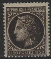 FR 1691 - FRANCE N° 677 Neuf** Cérès De Mazelin - Unused Stamps