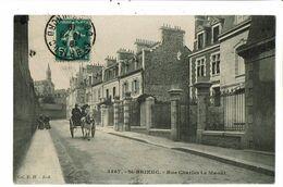 CPA-Carte Postale-France-Saint Brieuc- Rue Charles Le Maoût 1918 VM21149 - Saint-Brieuc