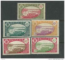 Niger N° 74 / 85  XX La Série  Des  12  Valeurs Sans Charnière, TB - Unused Stamps