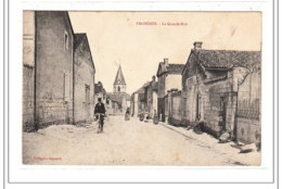 FAGNERES : La Grande-rue - Tres Bon état - France