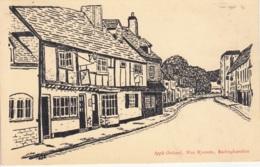 BO04. Vintage Advertising Postcard. Apple Orchard. West Wycombe, Buckinghamshire - Buckinghamshire