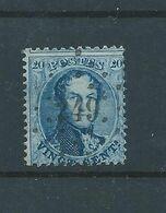 N° 15A  OBLITERE LP 249 MOORBEKE - 1863-1864 Médaillons (13/16)