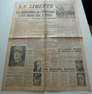 La Liberté (du Sud-est) Du 8 Mai 1945.(Victoire) - Zeitungen & Zeitschriften
