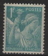 FR 1697 - FRANCE N° 650 Neuf** Type Iris - Nuovi